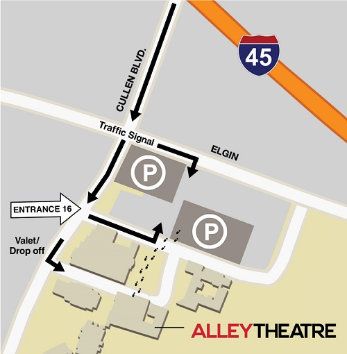 Alley Theatre Official Website University Of Houston Parking And