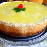 Deluxe Lemon Cheesecake