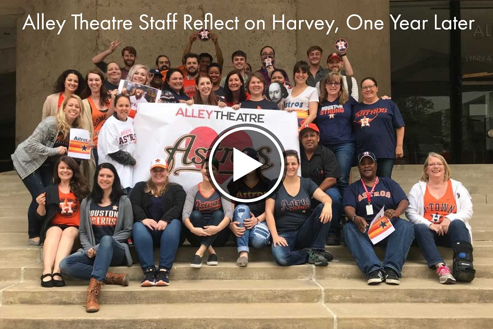 Alley staff reflect on Hurricane Harvey